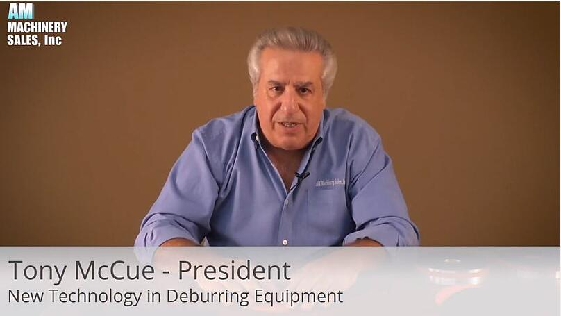 New technology in deburring equipment
